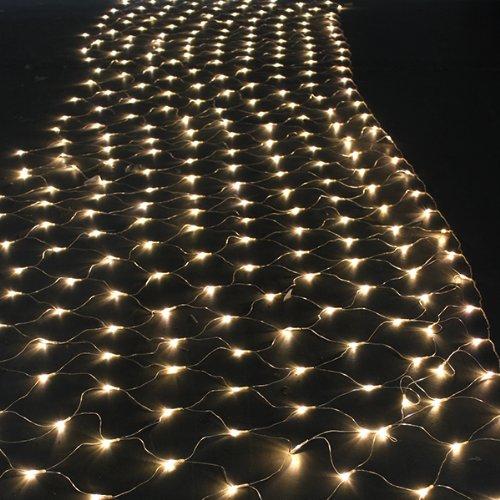 3m x 5m warm white led net light christmas tree fairy light etc