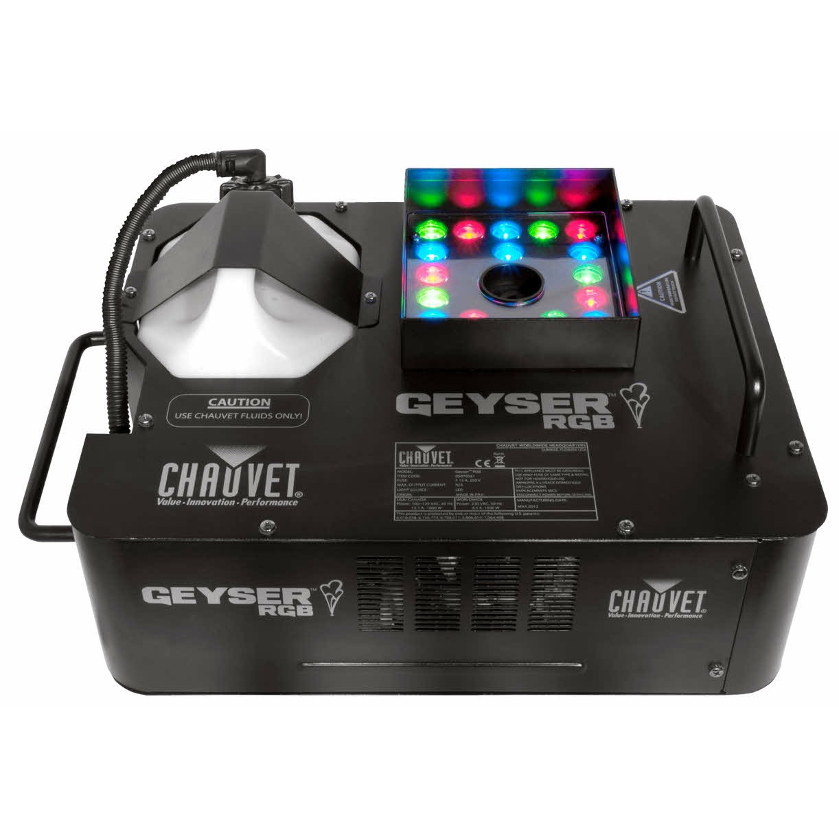 Chauvet Geyser RGB Vertical Smoke Machine