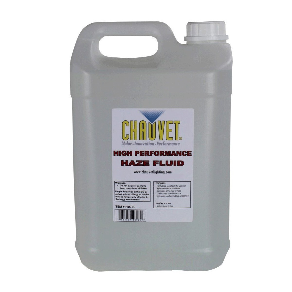 5l Chauvet High Performance Haze Fluid