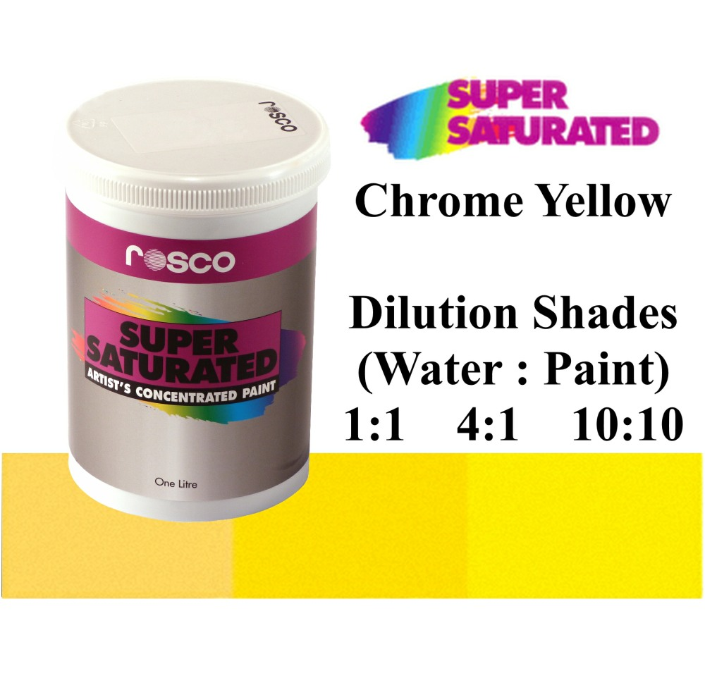 1l Rosco Super Saturated Chrome Yellow Paint