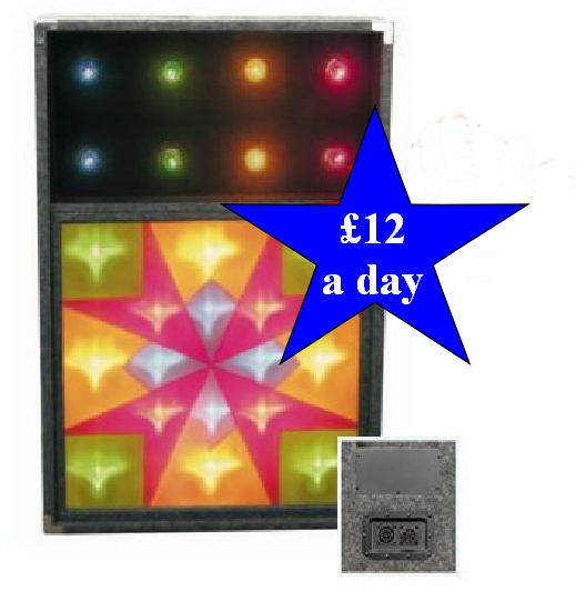 Retro Disco Light Box A