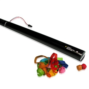 80cm Electric Streamer Cartridge Multicolour Paper