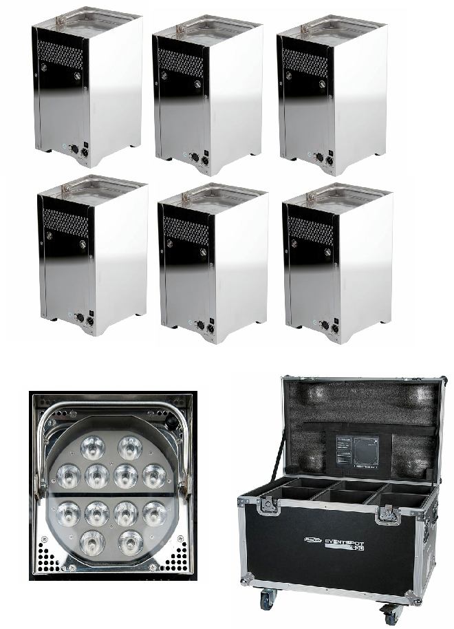 Event Battery Marquee LED Uplighter with Wireless DMX