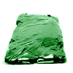1kg Bag of Green Square Glitter