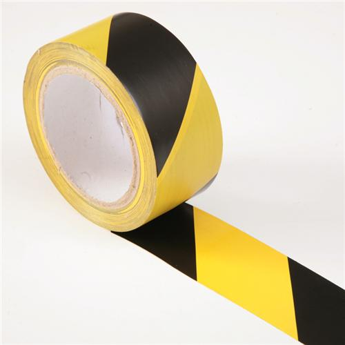 PVC Hazard Warning (Danger) Electrical / Stage Tape Yellow & Bla