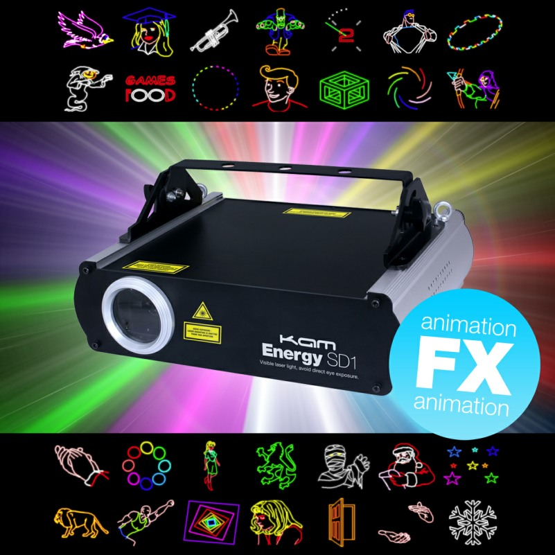 KAM Energy SD1 Multicolour Laser