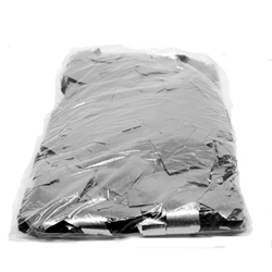1kg Bag of Sliver Square Glitter