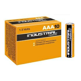Duracell Procell Industrial AAA MN2400 LR03 Battery (Pack of 10)