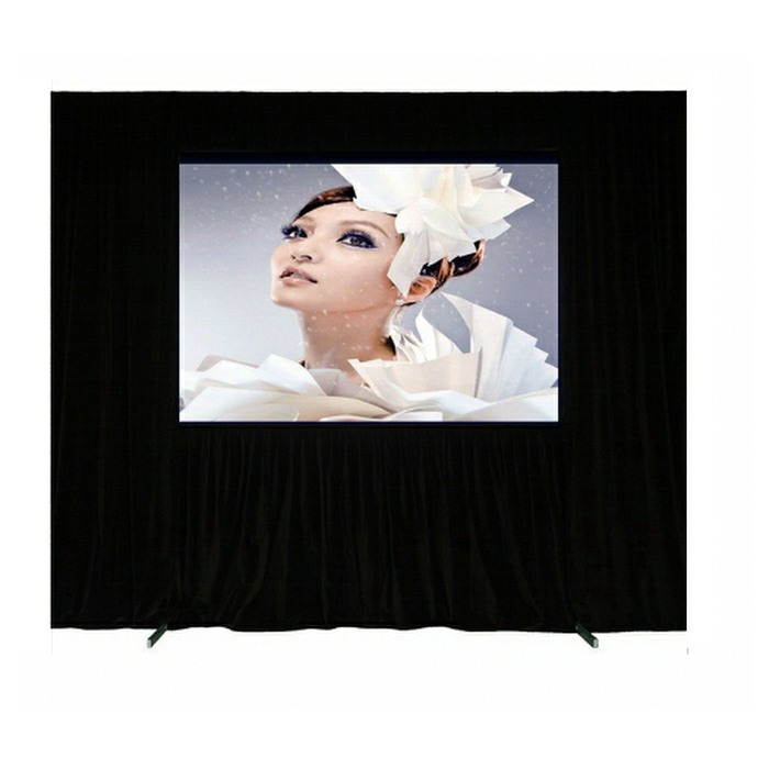 3m Front / Rear Fast Fold Projection Video Screen