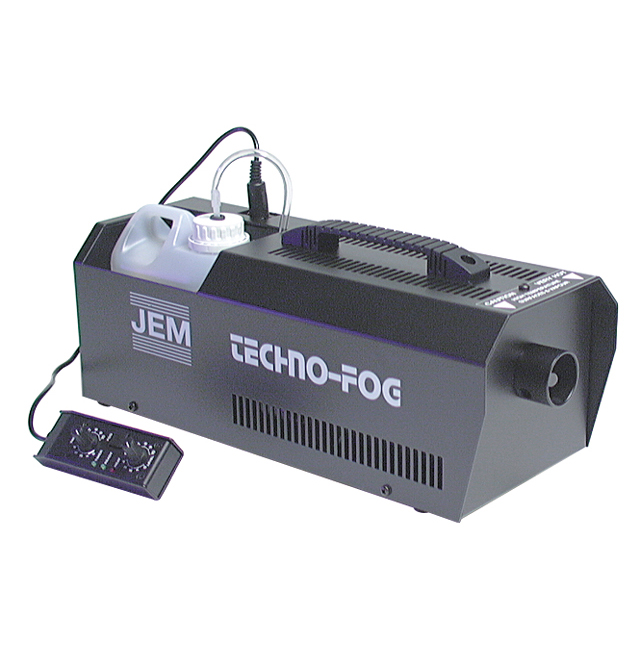 Jem Technofog Simple Smoke Machine & On/Off Remote