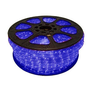 12m Blue 3 Circuit Rope Light (Ropelight)