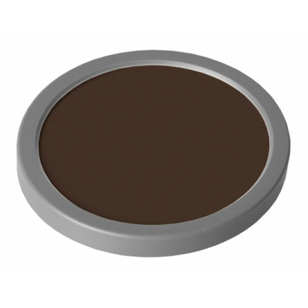 35g Grimas 1001 Blackish Brown Cake Makeup