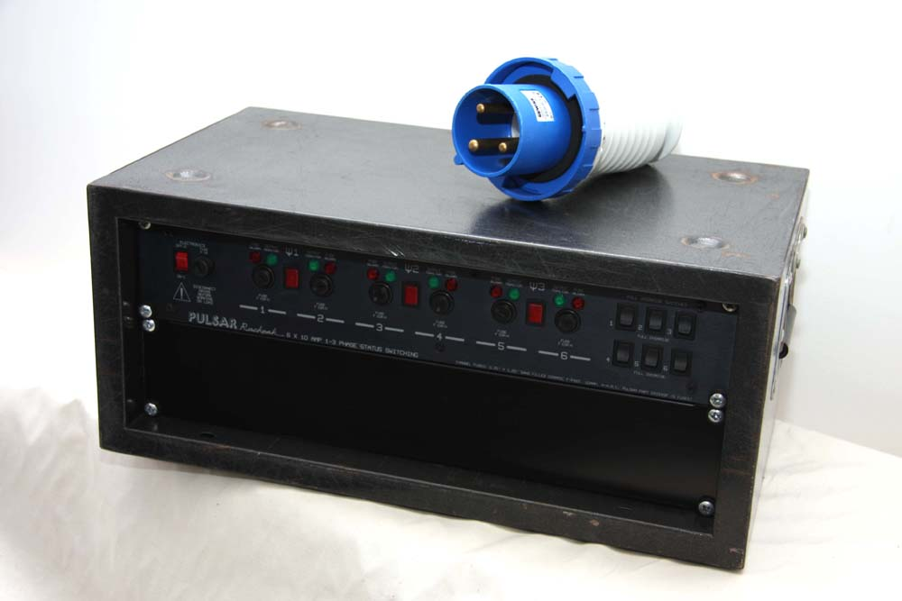 6 Way 10a Non-Dim Switch Pack DMX / Analogue