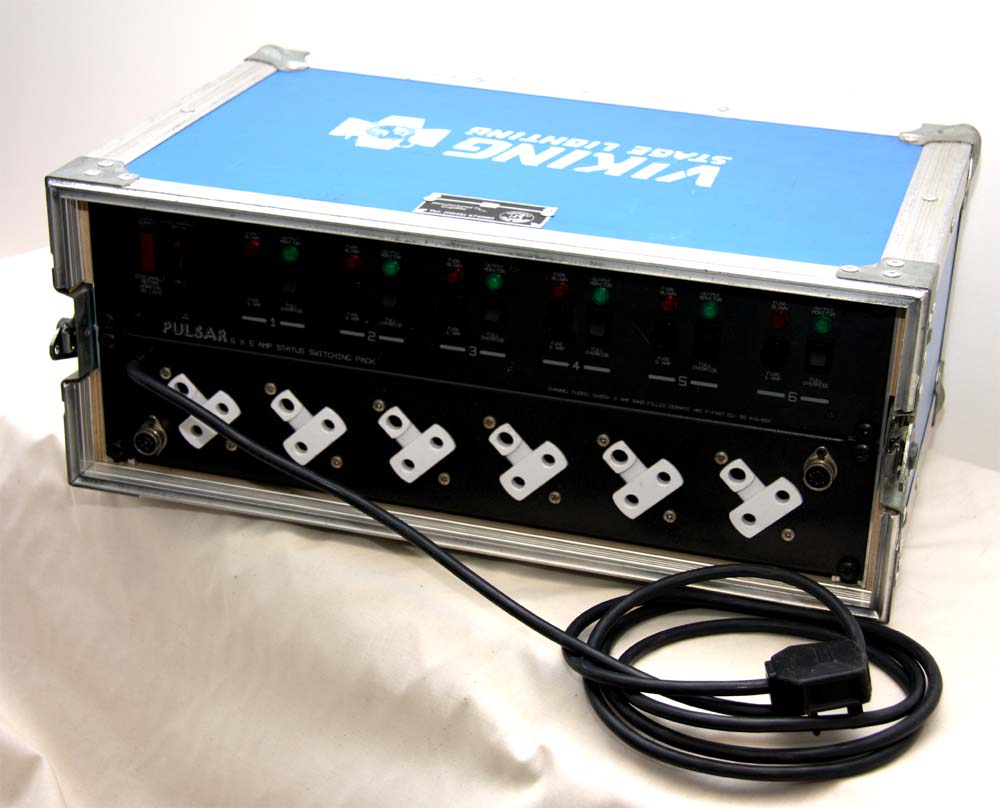6 Way 5a Non-Dim Switch Pack Analogue