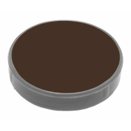 60ml Grimas 1001 Dark Brown Creme Makeup