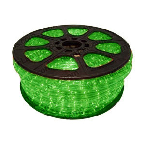 12m Green 3 Circuit Rope Light (Ropelight)
