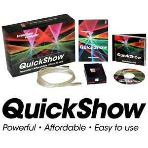 Quickshow Laser IDLA Software