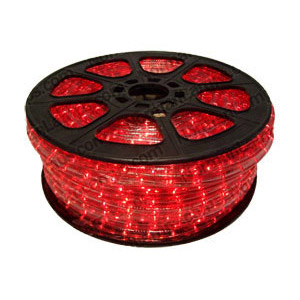 12m Red 3 Circuit Rope Light (Ropelight)