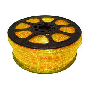 12m Yellow 3 Circuit Rope Light (Ropelight)