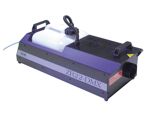 Jem ZR22 DMX High Output Smoke Machine